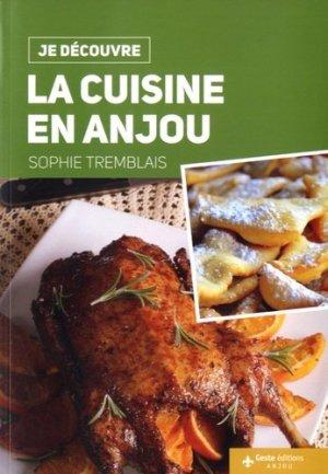 La cuisine en Anjou - geste - 9782367465043 - majbook ème édition, majbook 1ère édition, livre ecn major, livre ecn, fiche ecn