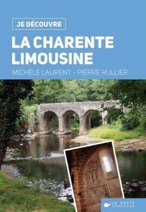 La Charente limousine - geste - 9782367469799