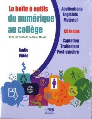 La boîte à outils du numérique au collège - Editions musicales Lugdivine - 9782368570425 -