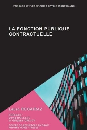 La fonction publique contractuelle - Université de Savoie - 9782377410576 -