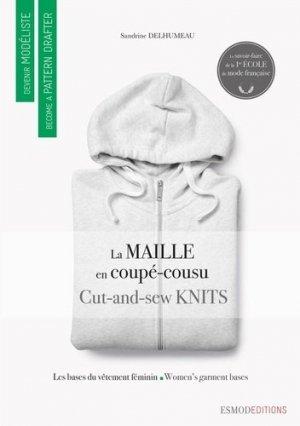 La maille coupé-cousu. Edition bilingue français-anglais - ESMOD - 9782377810079 -
