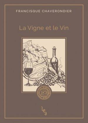 La Vigne et le Vin - absolues - 9782381200064 -