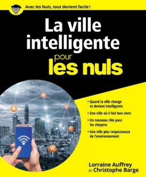 La ville intelligente pour les nuls - first  - 9782412024423 -