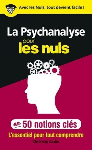 La psychanalyse pour les nuls - first editions - 9782412042823 -