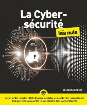 La cybersecurité pour les nuls - First - 9782412050743 -