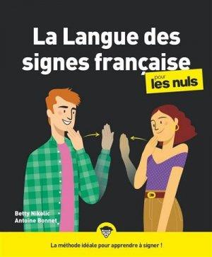La langue des signes pour les nuls - First - 9782412055854 -