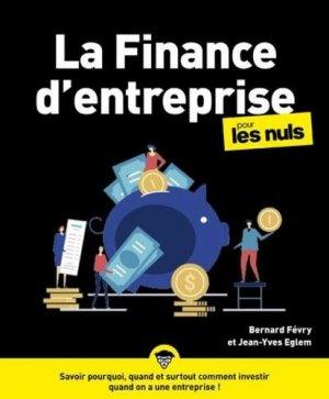 La finance d'entreprise pour les nuls - First - 9782412059401 -