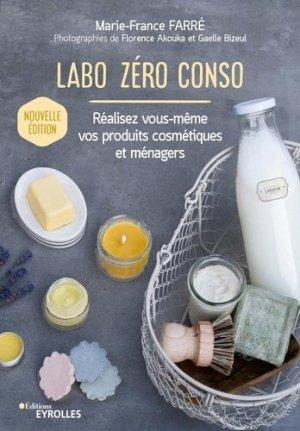 Labo zéro conso - Eyrolles - 9782416000362 -
