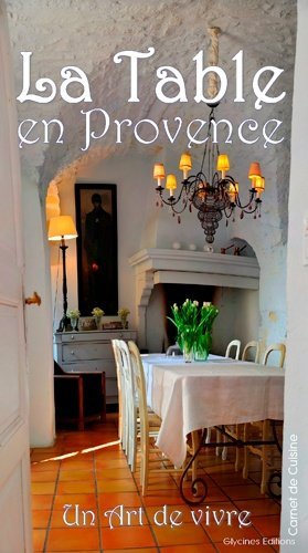 La table en Provence - glycines editions - 9782490511068 -