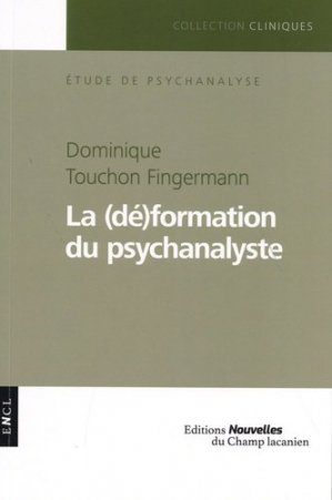 La (dé)formation du psychanalyste - encl - 9782491126001