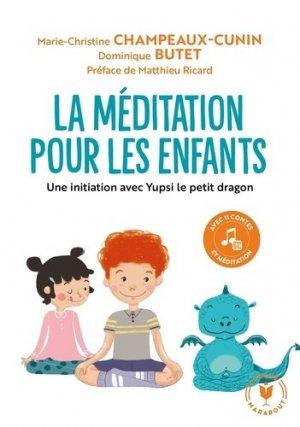 La méditation pour les enfants - marabout - 9782501084567 -