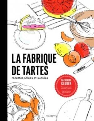 La fabrique de tartes salées et sucrées - Marabout - 9782501096553 -