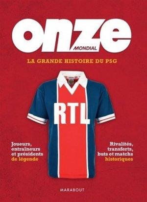 La grande histoire du PSG - Marabout - 9782501150101 -
