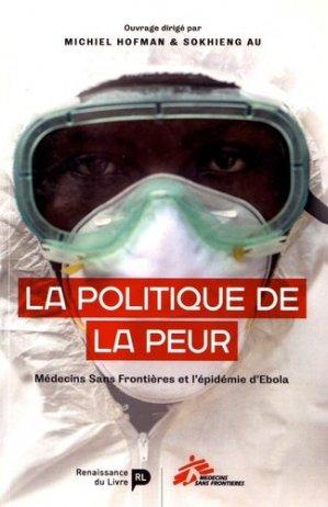 La politique de la peur - la renaissance du livre - 9782507054687 -
