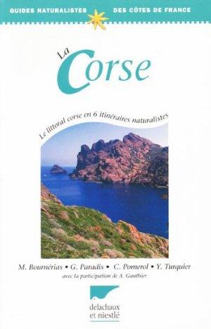 La Corse - delachaux et niestle - 9782603012291 -