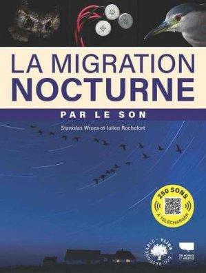 La migration nocturne par le son - delachaux et niestlé - 9782603027974 -