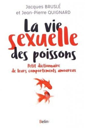 La vie sexuelle des poissons - belin - 9782701189567 -