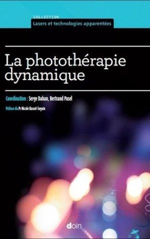 La photothérapie dynamique - doin - 9782704013845 -