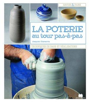La poterie au tour pas à pas - massin - 9782707210357 -