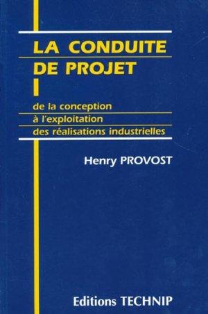 La conduite de projet - technip - 9782710806721 -