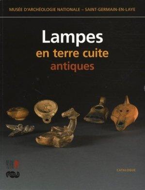 Lampes en terre cuite antiques - RMN - 9782711850495 -