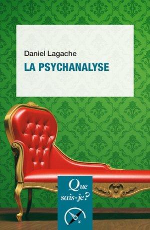 La psychanalyse - PUF - 9782715402119 -