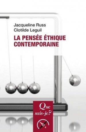 La pensée éthique contemporaine. 5e édition - puf - 9782715403239 -