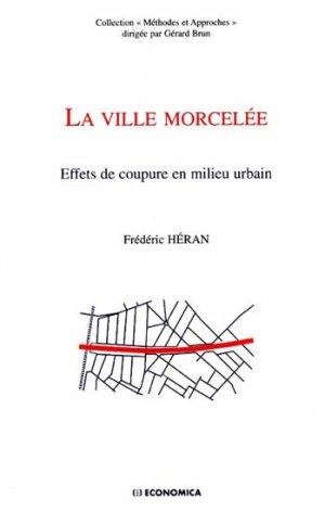La ville morcelée - economica anthropos - 9782717860382