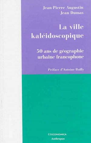 La ville kaléidoscopique - economica anthropos - 9782717867886 -