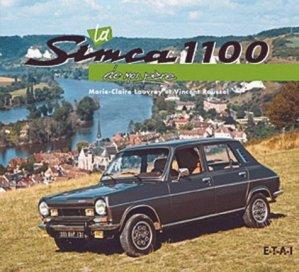La Simca 1100 de mon père - etai - editions techniques pour l'automobile et l'industrie - 9782726888667 -