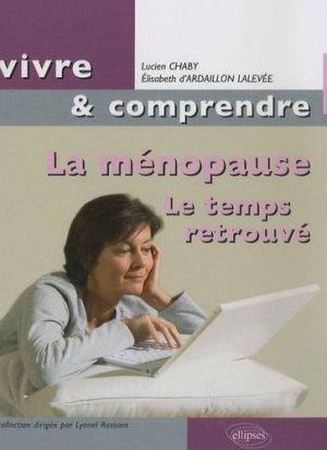 La ménopause - ellipses - 9782729833268 -