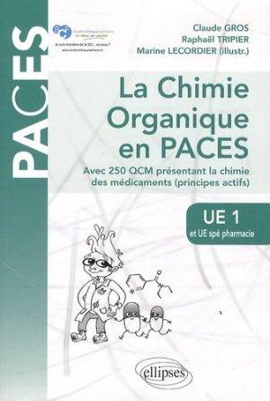 La chimie organique en PACES - ellipses - 9782729886899