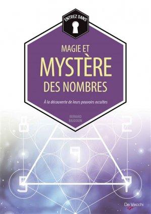 La magie et le mystère des nombres - de vecchi - 9782732899343 -