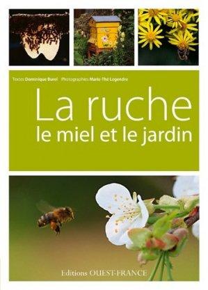 La ruche, le miel et le jardin - ouest-france - 9782737355004 -