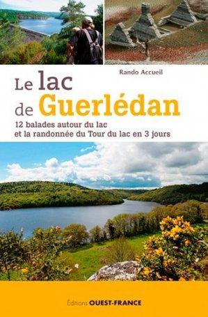Lac de Guerlédan, 12 balades autour du lac - ouest-france - 9782737371141 -
