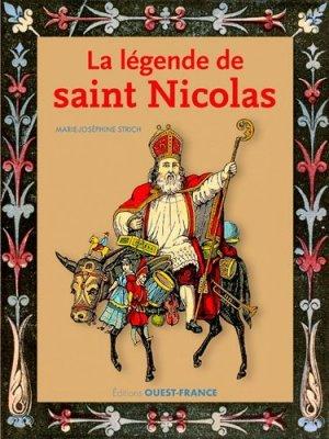 La légende de saint Nicolas - Ouest-France - 9782737376269 -