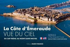 La Côte d'Emeraude vue du ciel - Ouest-France - 9782737380129 -