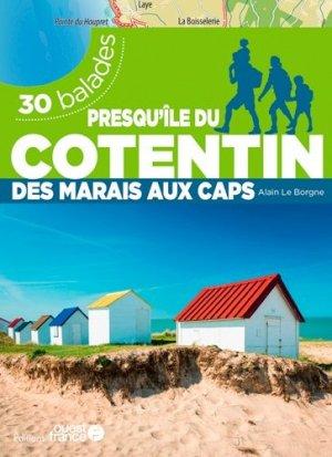 La Presqu'île du Cotentin - 30 balades - Ouest-France - 9782737384325 -