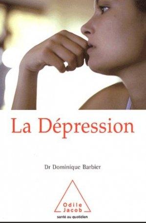 La dépression - odile jacob - 9782738108883 -