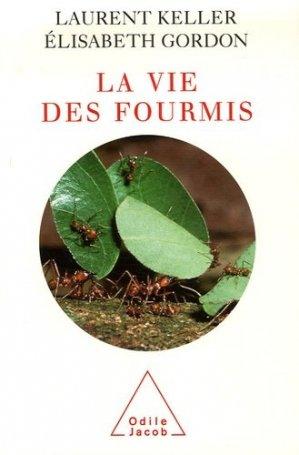 La vie des fourmis - odile jacob - 9782738118257 -