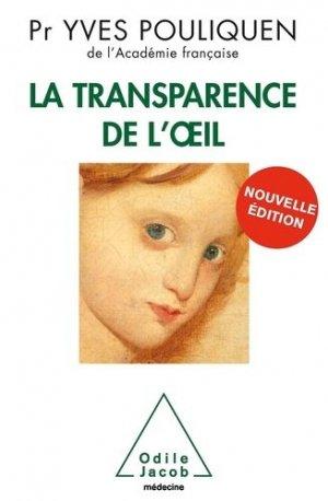 La transparence de l'oeil - odile jacob - 9782738126337 -