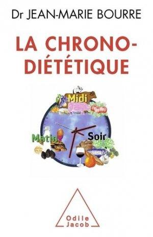 La chrono-diététique - odile jacob - 9782738127846 -