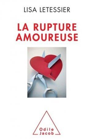 La Rupture amoureuse - odile jacob - 9782738130129 -
