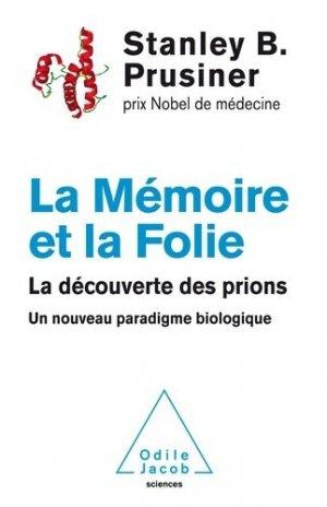 La Mémoire et la Folie - odile jacob - 9782738131560 -