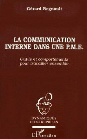 La communication interne dans une PME - l'harmattan - 9782738444554 -