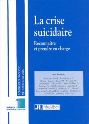 La crise suicidaire - john libbey eurotext - 9782742004119 -