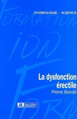 La dysfonction érectile - john libbey eurotext - 9782742004188 -