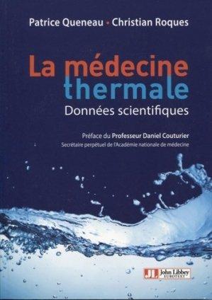 La médecine thermale - john libbey eurotext - 9782742015498 -