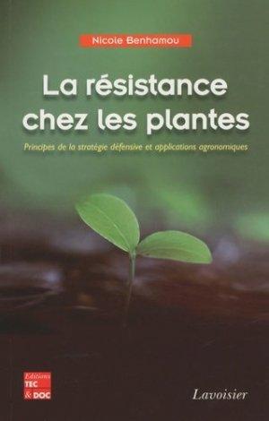 La résistance chez les plantes - lavoisier / tec et doc - 9782743011932