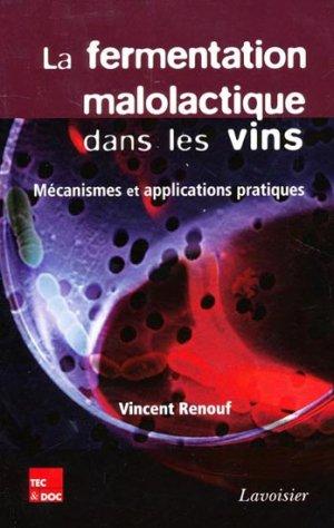 La fermentation malolactique dans les vins - lavoisier / tec et doc - 9782743015343 -